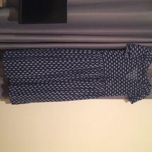 Christy Dawn Dawn dress-navy blue floral print